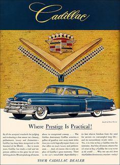 1952 Cadillac Ad