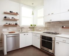 50 Kitchen Backsplash Ideas - Vinyl tiles for stick-on backsplash?
