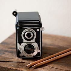 camera pencil sharpener $16