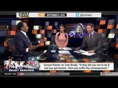 ESPN First Take September (9-8-2016) - Carson Palmer Rips Tom Brady
