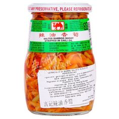 Camel Bamboo Shoot In Chilli Oil 340g