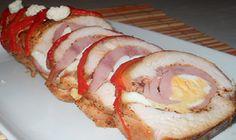 Roláda z kuracích prsíčok s vynikajúcou plnkou! Veľmi jednoduché a veľmi chutné! - Báječná vareška