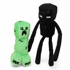 Creeper, endermen