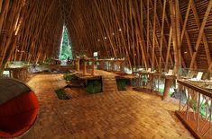 Las instalaciones se encuentran en Ubud, en el interior de Bali.