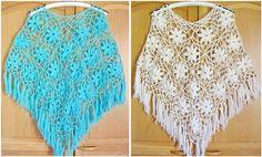 Crochet Shawls: Crochet Poncho Pattern - Gorgeous Summer