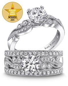Kirk Kara JCK Award Winning Designer Available at Lamon Jewelers