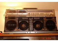 SHARP GF-777 Z Boomboxes |