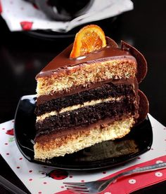 Decadent Chocolate Orange Layer Cake Recipe - See Stay Share