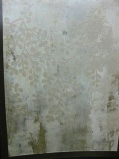 DIY Projects: The Bombshell Bath (Step 2) Mimosa Walls by Surfaces Fine Paint