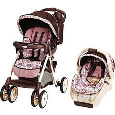 Graco - Alano Travel System, Carina I absolutely love this pattern Baby Doll Nursery, Baby Dolls, Car Seat And Stroller, Baby Car Seats, Baby Girl Strollers, Travel Systems For Baby, Baby Doll Accessories, Baby Equipment, Reborn Babies