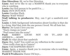 One Direction doing Punk'd <3
