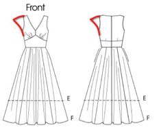 Perfect Pattern for Dream Dress   Sew Mama Sew