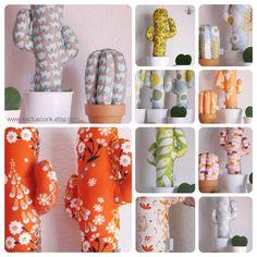 Mucho color de la nueva Colección Verano 2016 by @kactusconk  Cuál es tu favorito? Puedes ver todos los modelos disponibles en la tienda online www.kactusconk.etsy.com  FELIZ FINDE CACTUSER@S! ☀️ #cactus #cactis #tela #fabric #artesania #handmade