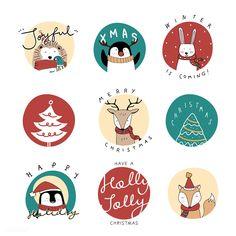 Hand drawn animals wishing a Merry Christmas Christmas Doodles, Christmas Cartoons, Diy Christmas Cards, Christmas Settings, Christmas Stickers, Christmas Design, Xmas Cards, Christmas Art, Merry Christmas Drawing