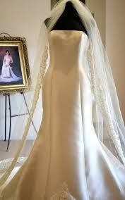White and Gold Wedding Veil. ivory and gold cathedral veil - Google Search