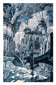 Misterious castle... Art for sale.