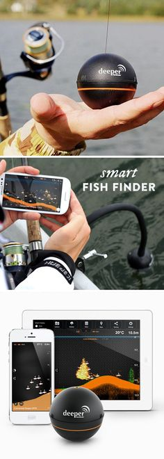 Cast this fish finder out on the water to get an instant diagram of the depth, w. - Cast this fish finder out on the water to get an instant diagram of the depth, waterbed contour, th - Trout Fishing Tips, Fishing Knots, Fishing Lures, Fishing Tricks, Fishing Basics, Crappie Fishing, Kayak Fishing Gear, Survival Fishing, Salmon Fishing