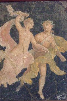 Roman frescoes recovered from Vesuvian Ash in Stabiae 1st century BCE-1st century CE (1)