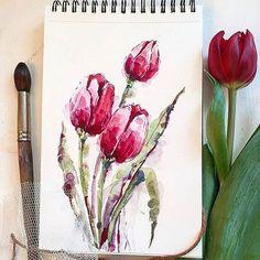 Watercolorist: @taisiya_kovali #waterblog #акварель #aquarelle #painting #drawing #art #artist #artwork #painting #illustration #watercolor #aquarela