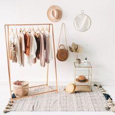 Copper Pipe A Frame Clothing Rail / Garment Rack / Clothes Storage#clothes #clot… - lancoot.teachinformation.com | 1000