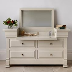 Manoir Painted Dressing Chest | AND SO TO BED