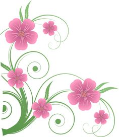 Flowers PNG Decorative Element Clipart