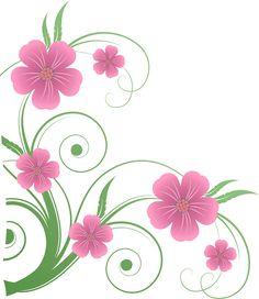 Flowers PNG Decorative Element Clipart