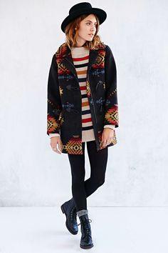 Pendleton Tillamook Toggle Jacket - Urban Outfitters $400  #jessecoulter