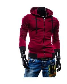New Hot Top Men's Fashion Hoodies Patchwork Style Hooded O-Neck Slim Fit Popular Male Contrast Color Full Sleeve Sweatshirts