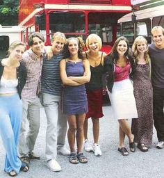 Hollyoaks early cast