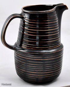 Arabia Mahonki kannu / Arabia Mahonki can Finland Finland, Mid-century Modern, Objects, Porcelain, Mid Century, Ceramics, Canning, Nice, Bottle