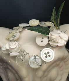 Miniature Button & Rosette Fairy Tiara