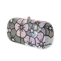 Inflorescence Crystal Clutch Bag  #crystal, #clutchbag, #flowers  http://www.playbling.com/en/crystal-clutch-bag/inflorescence-crystal-clutch-bag-2.html