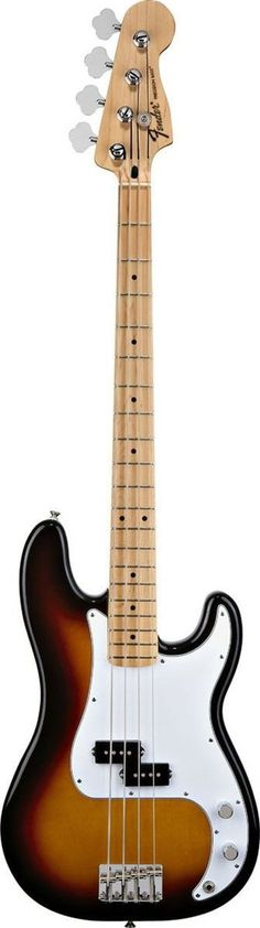 Since its early-'50s introduction, the Fender Precision Bass guitar has remained the world standard for thick tone and smooth playability. The Standard Precision Bass combines the best of old and new,                                                                                                                                                                                 More