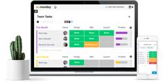 monday.com is a tool that simplify the way teams work together - Manage workload, track projects, move work forward, communicate with people - Adopt a management tool that people actually love to use, one that's fast, beautiful, easy to use and makes their work easier - start now for free!