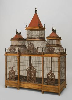 coisasdetere:  Large Turn of the Century French Birdcage…