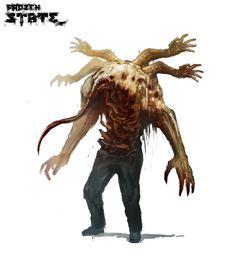 Monster Design, Monster Art, Arte Zombie, Rpg Map, Eldritch Horror, Dark Artwork, Cool Art, Awesome Art, Creature Concept
