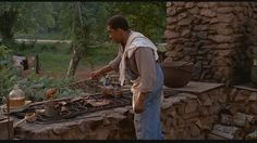 scene from Fried Green Tomatoes: Big George cooking hog Movie 21, Movie List, Fried Green Tomatoes Movie, Tomatoes Image, Great Movies, Movies Showing, Terms Of Service, Fries