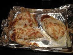 grouper-broiled. I had appx 4 or 5 thick pieces. Will cut thinner next time. It was still the bomb! Make more sauce then recipe calls for maybe? Yummy!! -SLS
