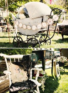 Vintage Victorian Baby Shower {Gender Neutral} // Hostess with the Mostess®