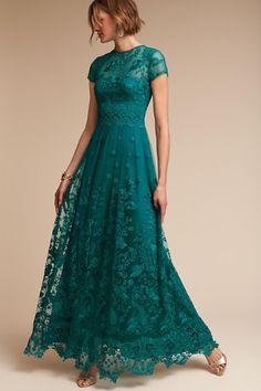 Teal Shauna Dress | BHLDN