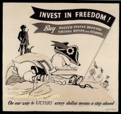 Invest in freedom. Disney poster.