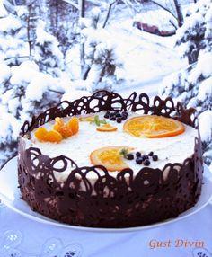 Romanian Desserts, Food Cakes, Cake Recipes, Bacon, Sweet Treats, Cheesecake, Deserts, Birthday Cake, Ice Cream