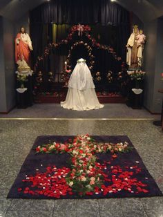 Carmelite Monastery of the Sacred Hearts (The day the novice receives her habit)