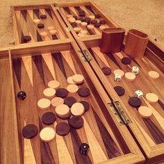 How To Make A Wooden Backgammon Board