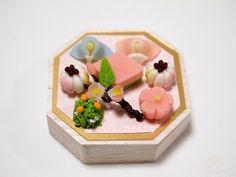 和菓子のひな祭り(橘と桜) - Abreise