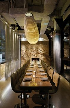 Interior design | decoration | restaurant design | Steel Bar and Grill, Sydney by Dreamtime designers....