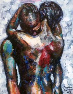 """A new sensual work of art by Andrew Nichols entitled """"In to You""""."""