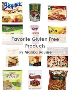 Favorite Gluten Free Products...texture is half the battle for me with some of these products! But at least I've tried them..
