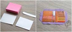 Resultado de imagem para como fazer porta bloco em tecido